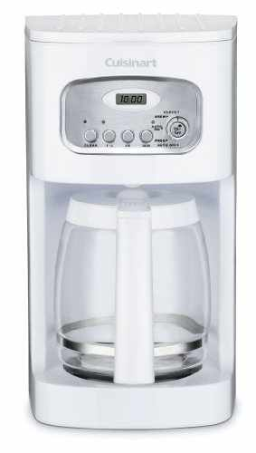 Cuisinart Dcc 1100 12 Cup Programmable Coffeemaker White